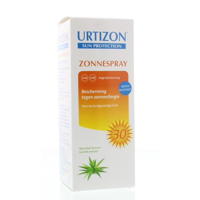 Urtizon Zonnespray SPF30 - Zonneallergie