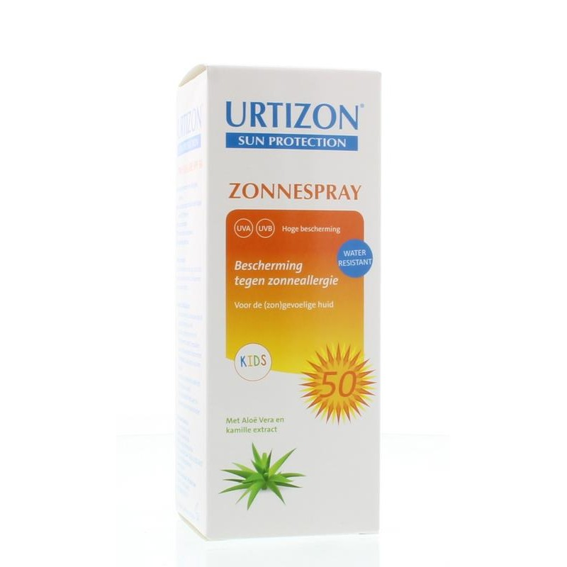 Urtizon Zonnespray Kids SPF50 - Zonneall...