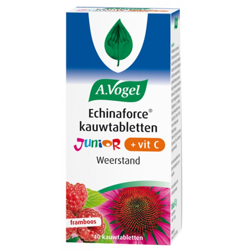 Echinaforce Kauw JUNIOR + vit.C