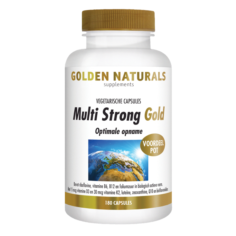 Multi Strong Gold - capsules