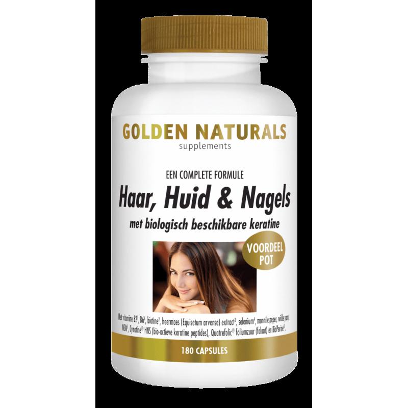 Haar. Huid & Nagels -Golden Naturals