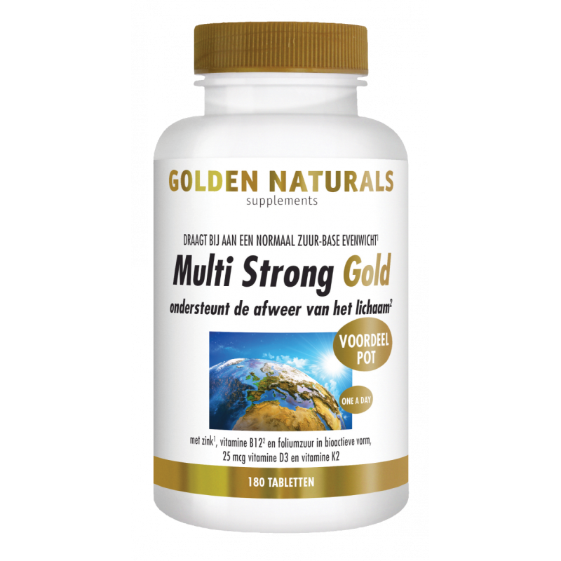 Multi Strong Gold - tabletten
