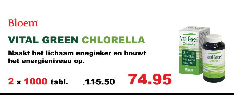 Bloem Vital Green Chlorella