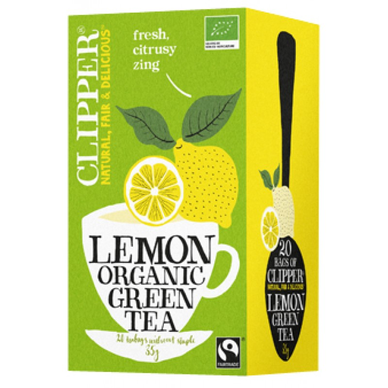 Lemon Organic Green Tea