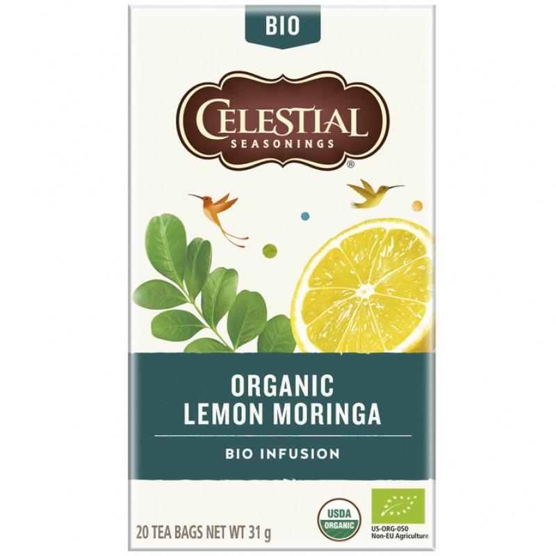 Organic Lemon Moringa - bio infusion
