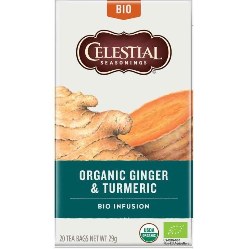 Organic Ginger & Turmeric - bio infusion