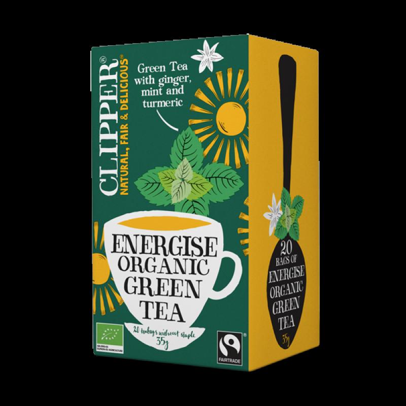 Energise Organic Green Tea