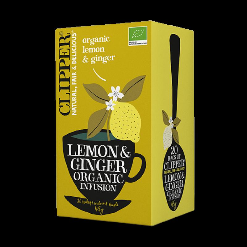 Lemon & Ginger Infusion