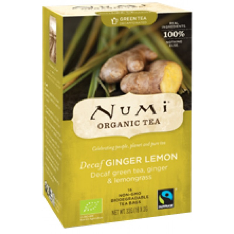 Groene Thee Decaf Ginger Lemon