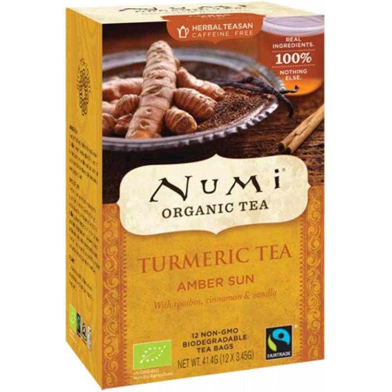 Turmeric Tea Amber Sun