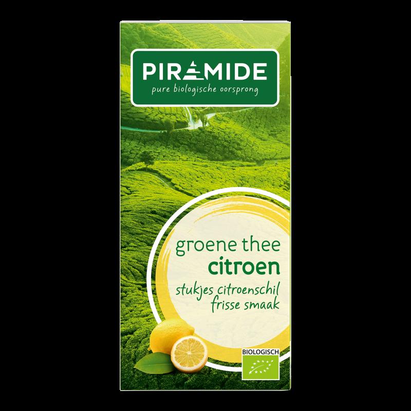 Groene Thee - Citroen