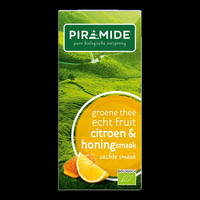 Groene Thee FRUIT Citroen & Honing