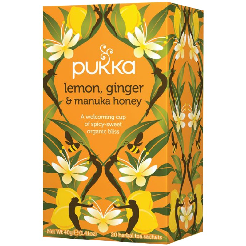 Lemon, Ginger and Manuka Honey