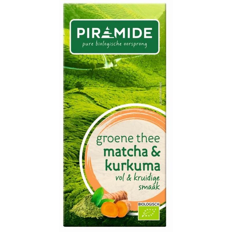 Groene Thee - Matcha & Kurkuma