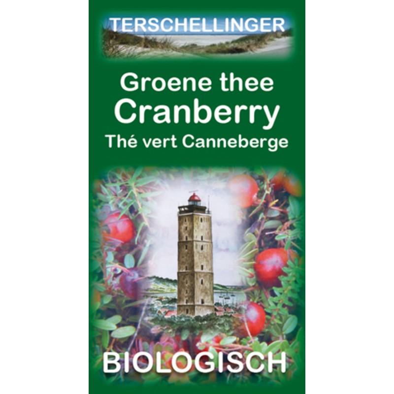 Groene Thee Cranberry - Biologisch