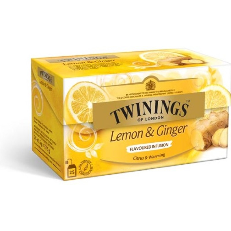 Infusions Lemon & Ginger