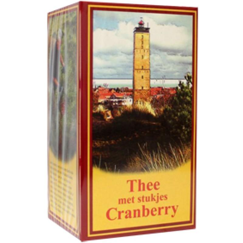 Thee met stukjes Cranberry