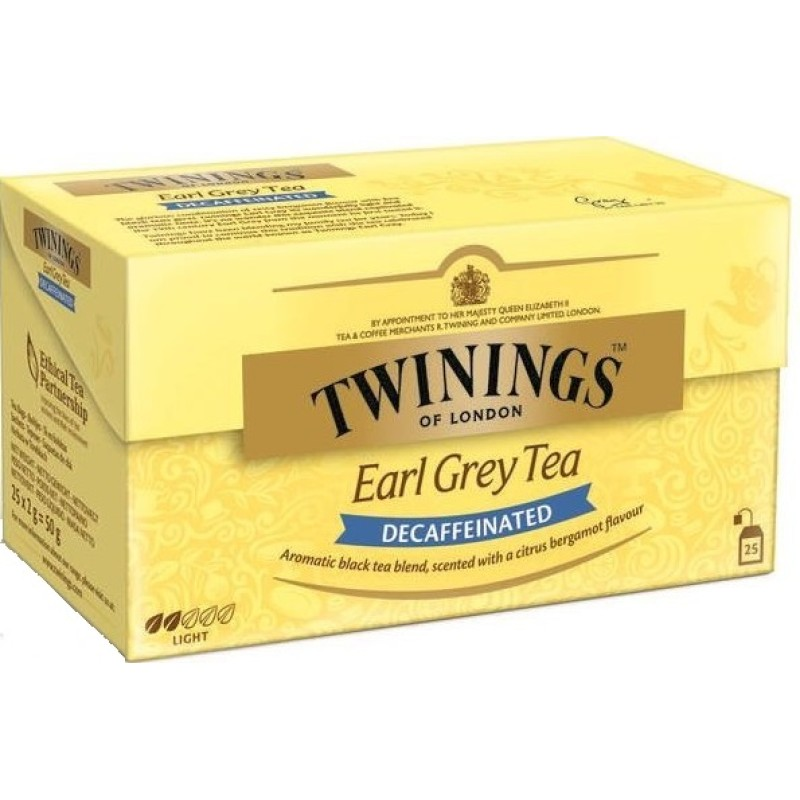Earl Grey Decaffeinated /Caffeïnevrij