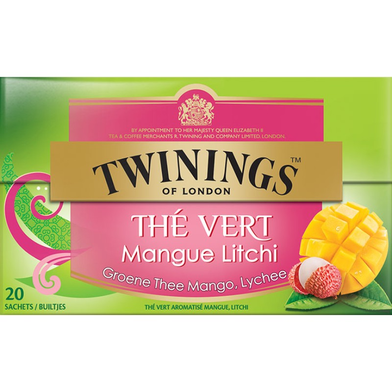 Groene Thee Mango Lychee