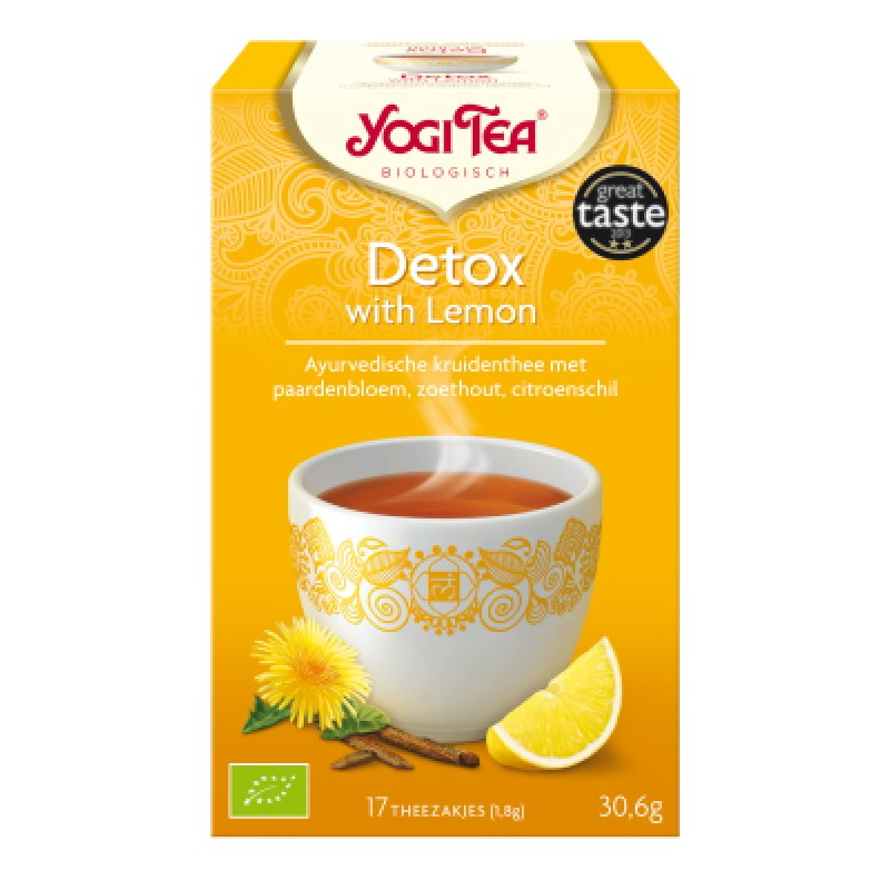 Yogi Tea Detox with Lemon