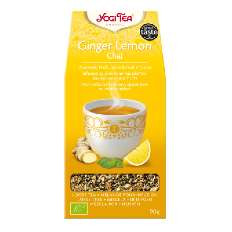 Yogi Tea Ginger lemon chai (los)