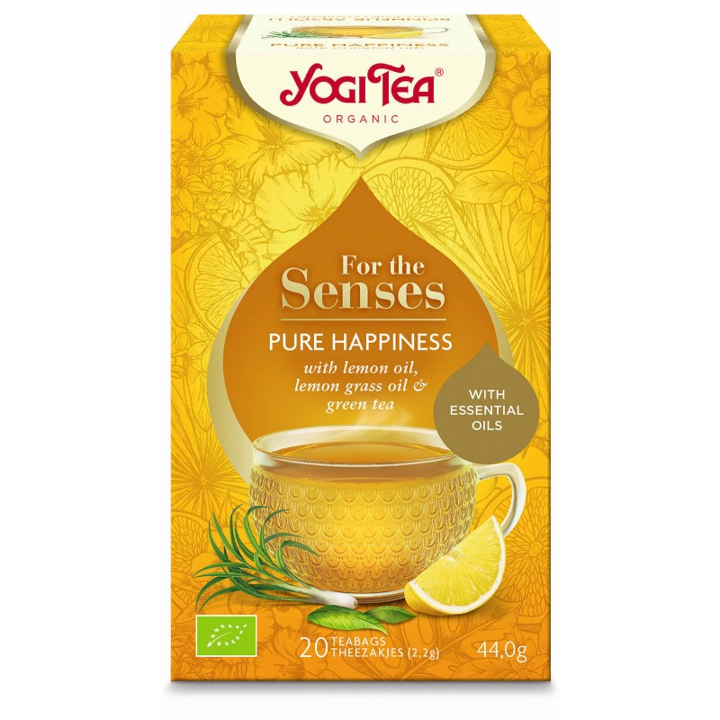 Yogi SENSES Tea Pure Happiness