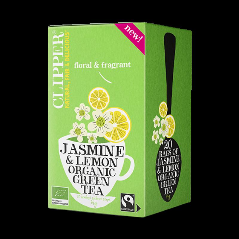 Jasmine & Lemon Organic Green Tea