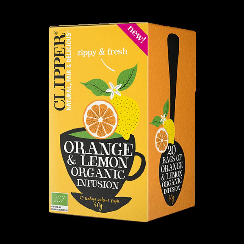 Organic Orange Lemon