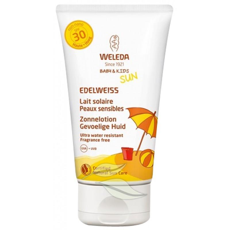 Edelweiss Zonnelotion - Gevoelige Huid SPF30