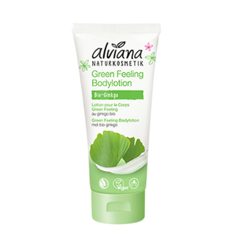 Bodylotion - Green Feeling met bio Ginkgo