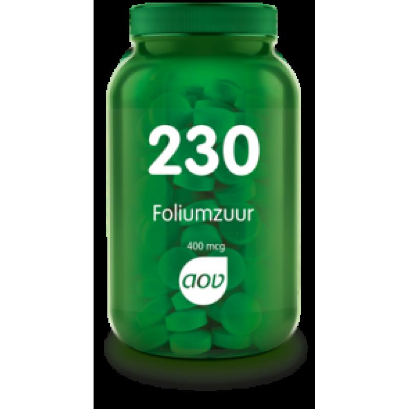 230 - Foliumzuur 400 mcg