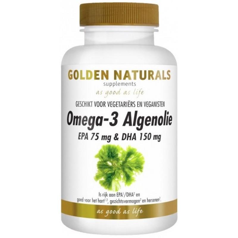 Omega-3 Algenolie