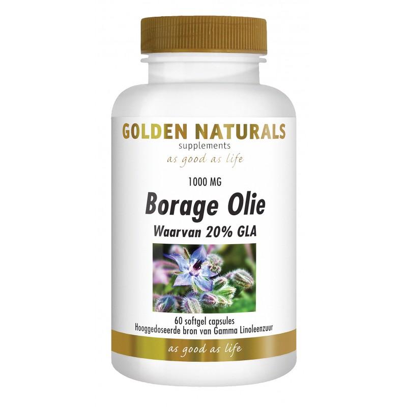 Borage Olie 20% GLA
