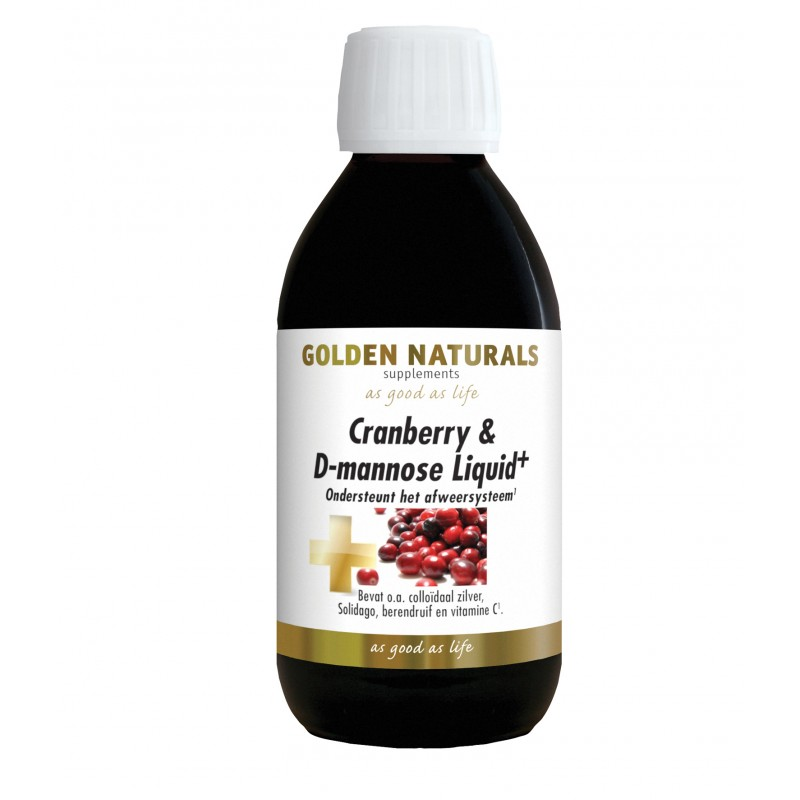 Cranberry & D-Mannose Liquid+