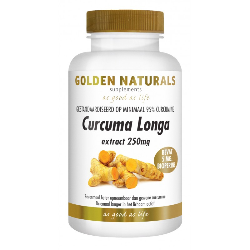 Curcuma Longa - Geelwortel