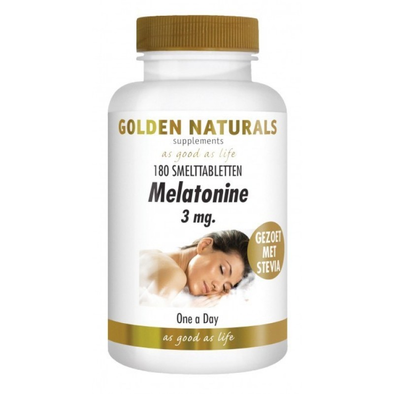 Melatonine 3 mg.