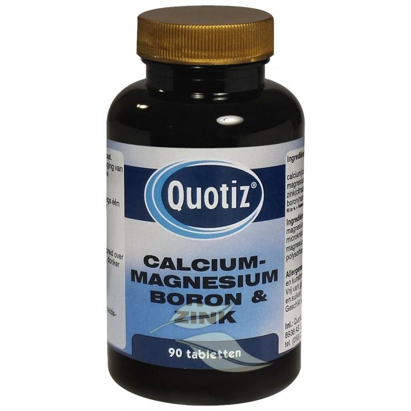 Calcium, Magnesium, Boron & Zink