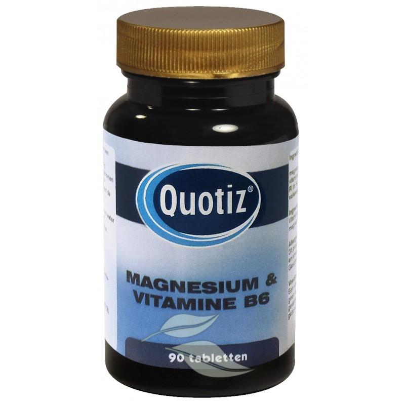 Magnesium & Vitamine B6