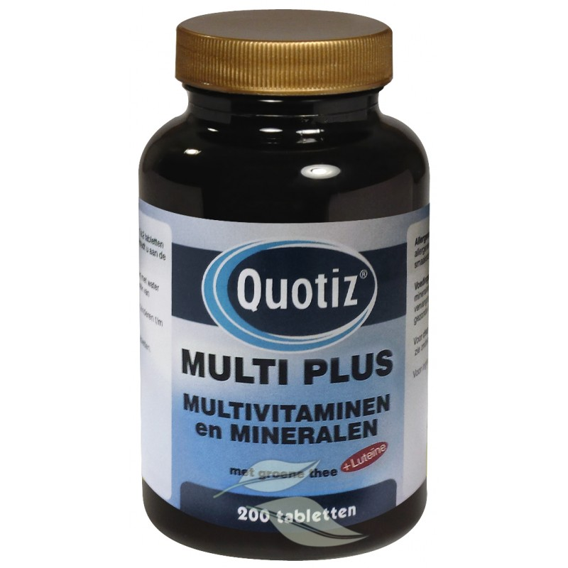 Multi Plus - Multivitaminen en Mineralen