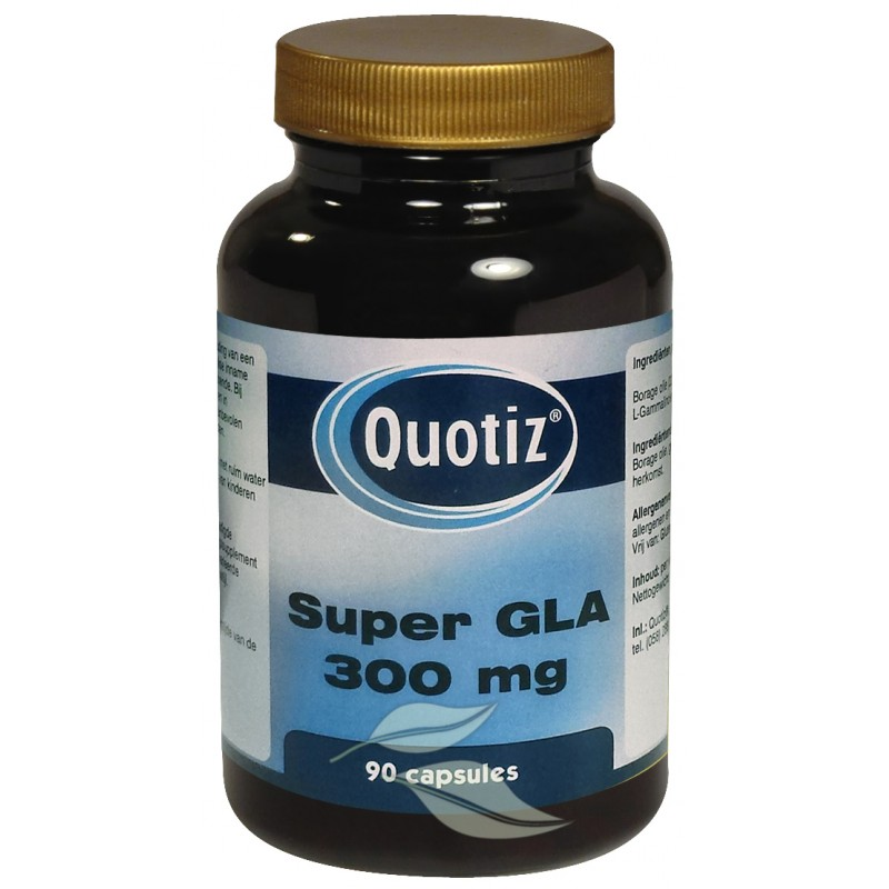 Super GLA 300 mg - Borage Olie