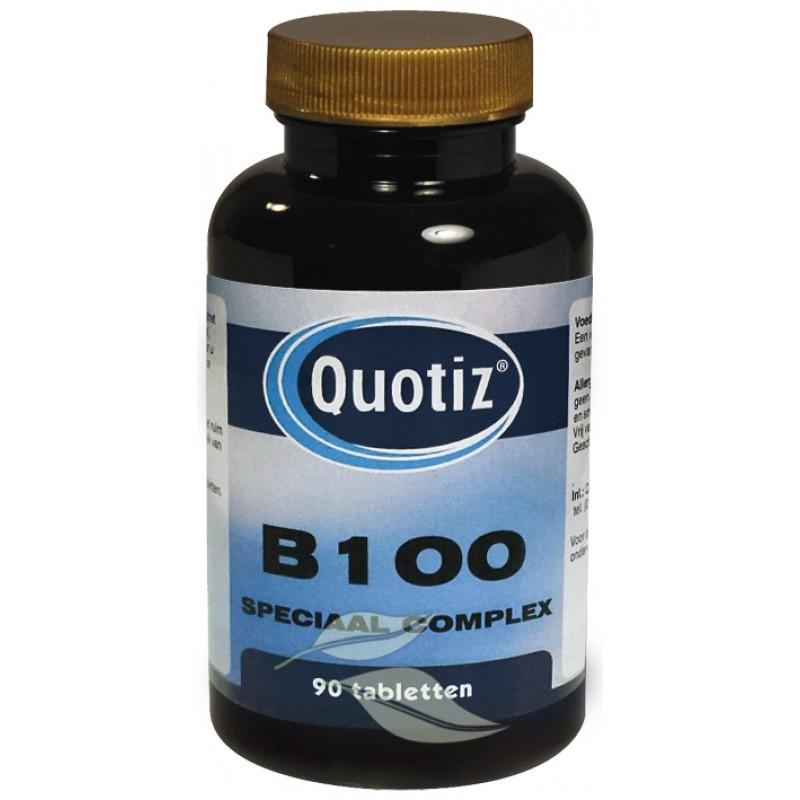 Vitamine B100 - Speciaal Complex