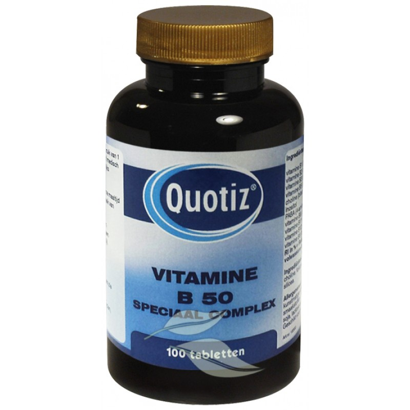 Vitamine B50 - Speciaal Complex