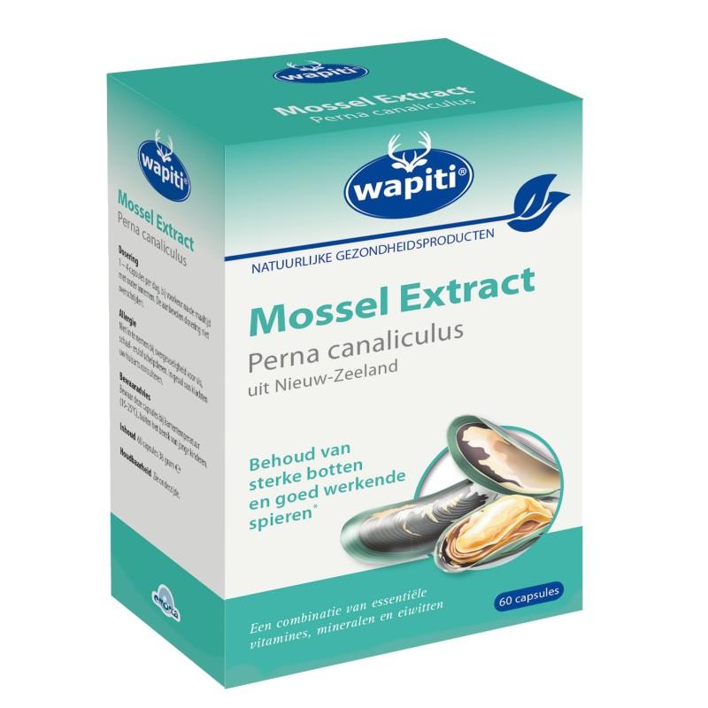 Wapiti Mossel Extract Groenlipmossel