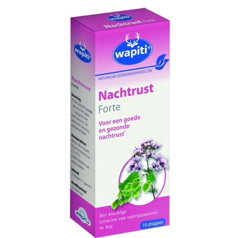 (GRATIS) 1 doos Wapiti Nachtrust Forte �...