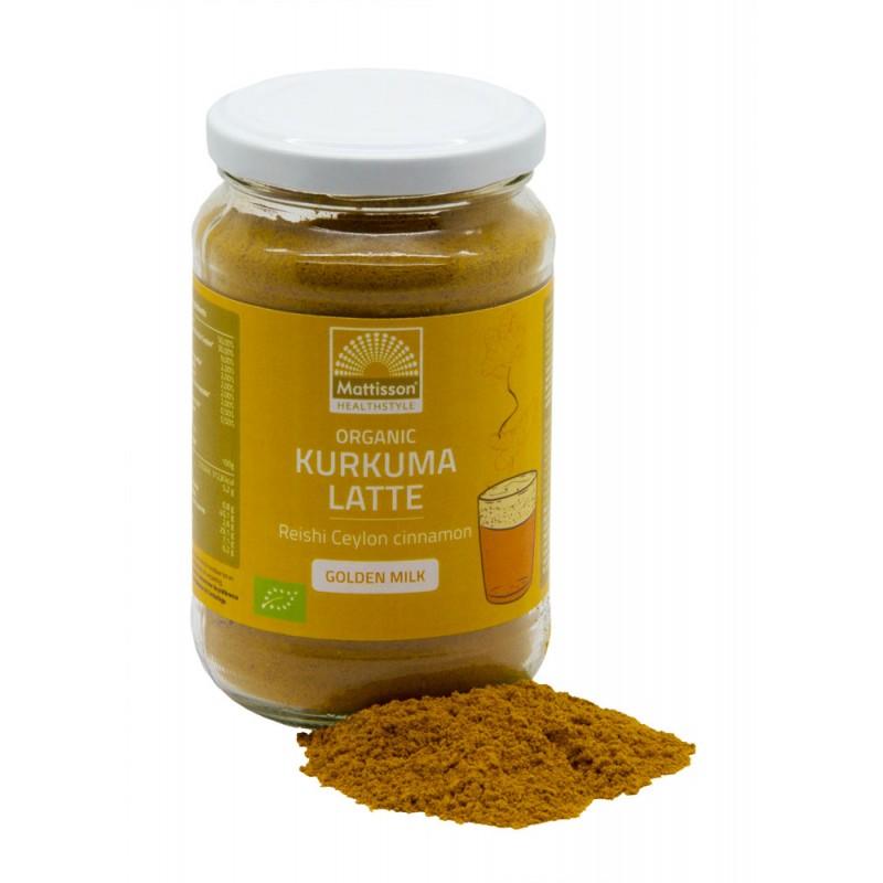 "Kurkuma Latte ""Goldenmilk"" Reishi – Ceylon kaneel BIO"