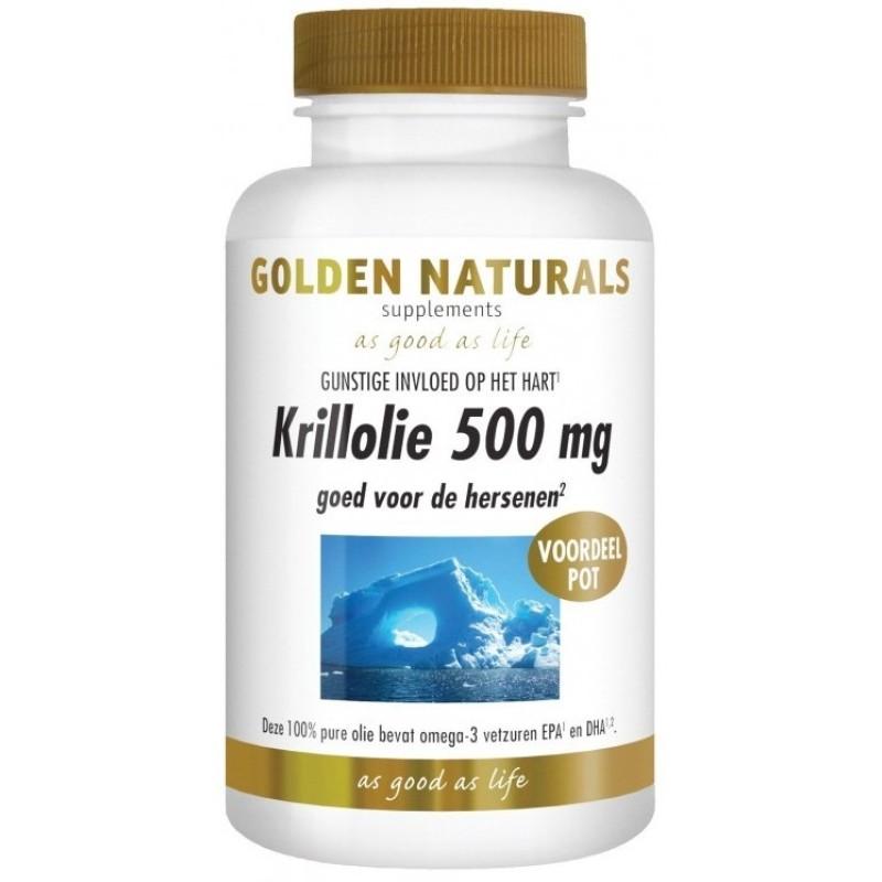 Krillolie 500 mg.