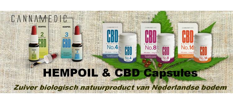 CBD Capsules en olie